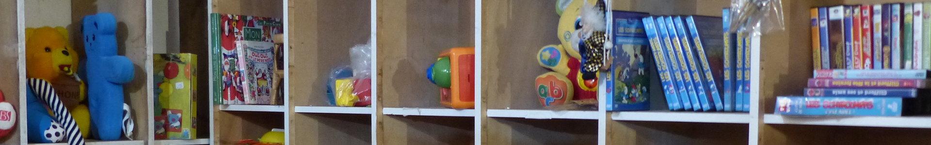 Un coin jouets pour les enfants